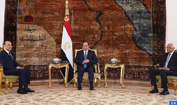 الرئيس المصري يؤكد دعم بلاده للوحدة الترابية للمملكة المغربية