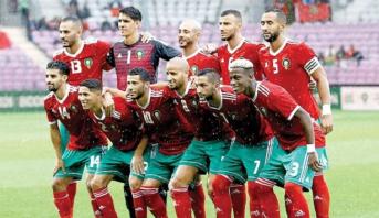 تشكيلة المنتخب المغربي أمام إستونيا