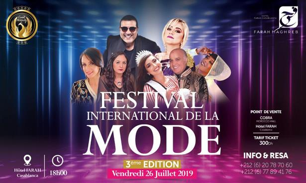 Casablanca accueille la 3e édition du Festival International de Mode