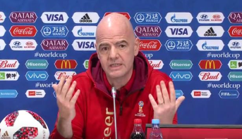 الندوة الصحافية الختامية لمونديال روسيا 2018