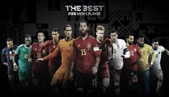 الفيفا يكشف عن أسماء المرشحين لجائزة أفضل لاعب في العالم