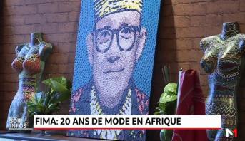 Casablanca: Alphadi présente son ouvrage «FIMA, 20 ans de mode en Afrique»