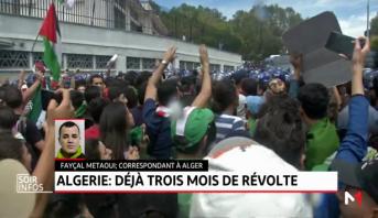 Algérie: déjà 3 mois de révolte