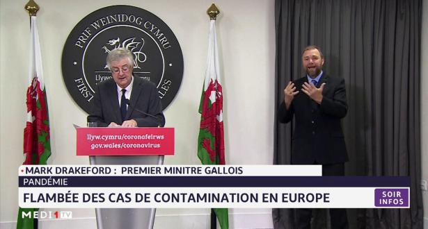 Flambée des cas de contamination en Europe