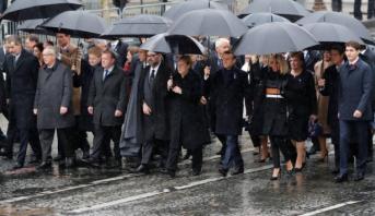 Cérémonie internationale à Paris pour la commémoration du centenaire de l'Armistice
