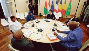 مجموعة دول الساحل وفرنسا تتفقان على تعزيز التعاون العسكري لمكافحة الإرهاب بالمنطقة