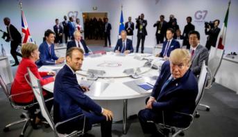 قمة مجموعة السبع .. ترامب يستبعد لقاء قريبا مع ظريف