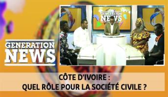 Generation News > Côte d'Ivoire : quel rôle pour la société civile ?