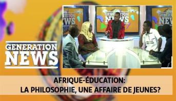 Generation News > Afrique-éducation: la philosophie, une affaire de jeunes?