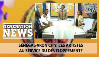 Generation News > Sénégal-Akon City: les artistes au service du développement?