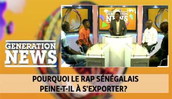 Generation News > Pourquoi le rap sénégalais peine-t-il à s'exporter?