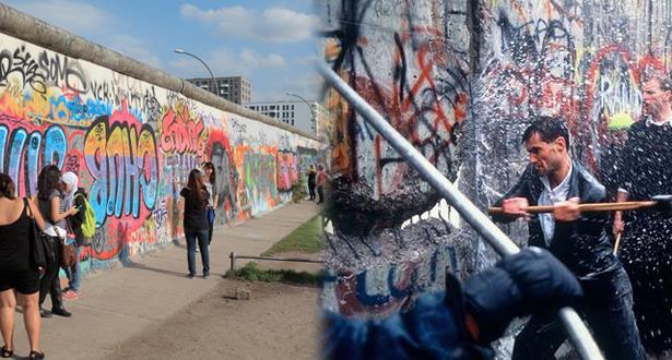 انطلاق الاحتفال الرسمي بسقوط جدار برلين بحضور زعماء دول أوروبية