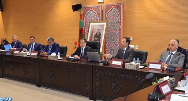 الحكومة تطلع الشركاء الاقتصاديين والاجتماعيين على مقتضيات مشروع قانون مالية 2020