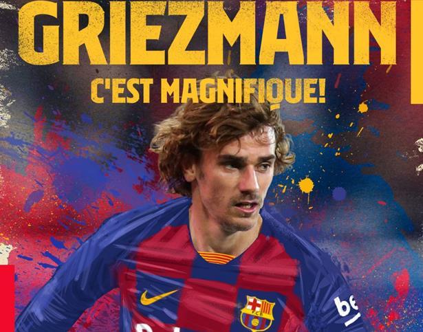 Griezmann officiellement au FC Barcelone