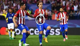 فيديو .. غريزمان يقود أتليتيكو مدريد للفوز على ليستر بركلة جزاء مثيرة للجدل