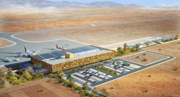 المحطة الجوية الجديدة لمطار كلميم ... مشروع رائد بجهة كلميم واد نون