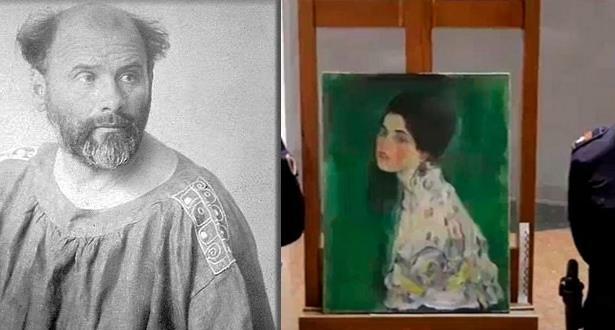 إيطاليا .. العثور على لوحة لجوستاف كليمت مفقودة منذ 23 عام