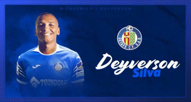 L'attaquant brésilien Deyverson Silva prêté à Getafe