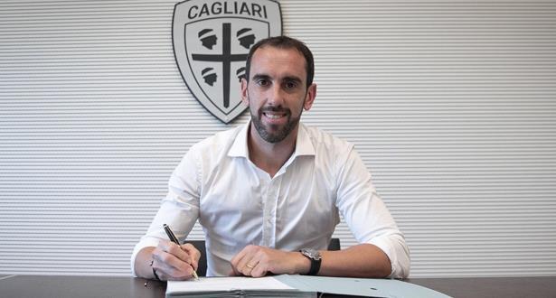 Diego Godin rejoint Cagliari