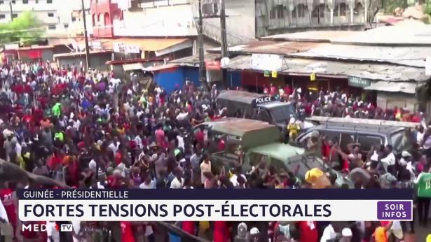 Guinée: fortes tensions post-électorales
