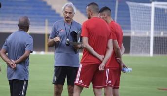 Vahid Halilhodzic salue l'état d'esprit de la sélection nationale lors de ces deux matches amicaux