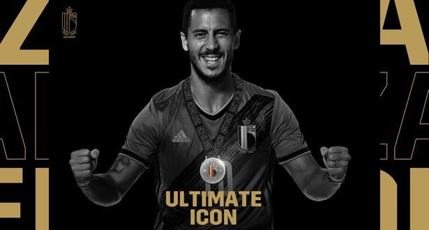 """هازار """"اللاعب الأكثر رمزية"""" في تاريخ المنتخب البلجيكي"""