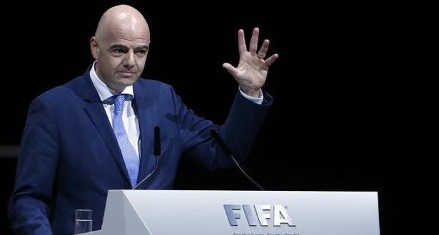 """اجتماعات هامة لـ """"الفيفا"""" بقيادة إنفانتينو بمراكش قد تُسفر عن قرارات مصيرية"""