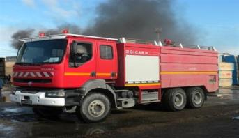 القنيطرة.. اندلاع حريق بمصنع لتحويل الشمندر السكري