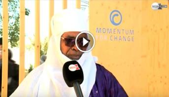 Vidéo: l'architecte nigérian Moussa Abou présente à Marrakech sa technique de construction écolo