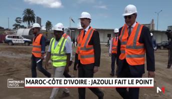 Baie de Cocody à Abidjan : Jazouli s'enquiert de l'avancement des travaux