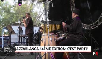 Jazzablanca: la 14ème édition démarre en beauté