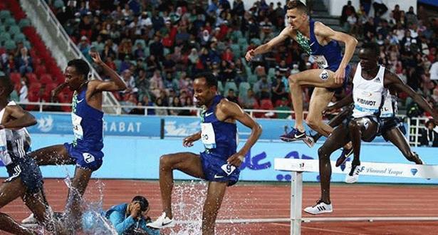 الملتقى الدولي محمد السادس لألعاب القوى : تسجيل أحسن إنجازين في السنة في سباقي 3000م موانع ذكورا و1500م إناثا