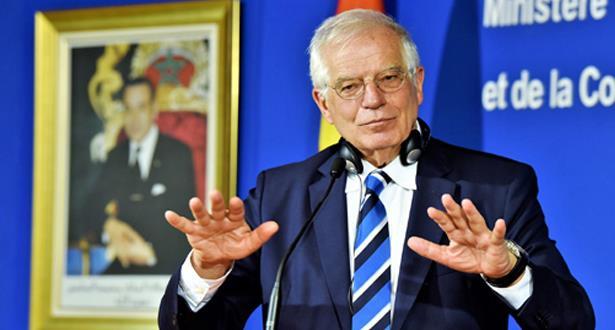 جوزيف بوريل يشيد بالعمل الذي يقوم به الملك محمد السادس لتحديث المغرب وللتقارب مع أوروبا