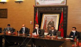 Principaux points de l'exposé du ministre de la justice lors de la réunion consacrée à la période post covid-19