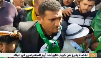 القضاء يفرج عن كريم طابو أحد رموز الحراك بالجزائر