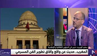 سعيد كوبريت يحلل واقع وآفاق المسرح بالمغرب