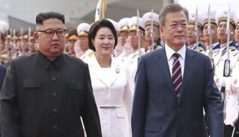 الرئيس الكوري الجنوبي يصل إلى بيونغ يانغ لعقد ثالث قمة بين الكوريتين
