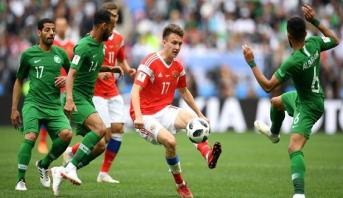 رئيس الاتحاد السعودي يتوعد ثلاثة لاعبين بسبب الخسارة الثقيلة أمام روسيا
