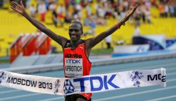 Dopage: ancien détenteur d'un record du monde, le Kényan Kiprotich suspendu provisoirement
