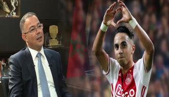 فوزي لقجع يتحدث عن الدعم المغربي لعبد الحق النوري