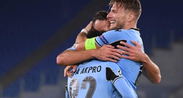 لاتسيو الإيطالي يحقق عودة ناجحة إلى دوري أبطال أوروبا