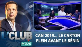 L'CLUB > CAN 2019 .. LE CARTON PLEIN AVANT LE BÉNIN