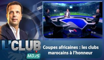 L'CLUB > Coupes africaines : les clubs marocains à l'honneur