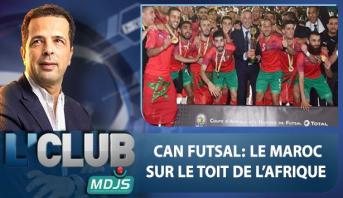 L'CLUB > Can Futsal : Le Maroc sur le toit de l'Afrique