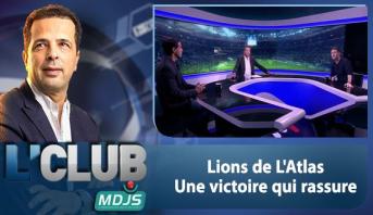 L'CLUB > Lions de L'Atlas: Une victoire qui rassure