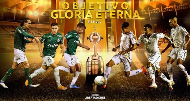 نهائي برازيلي خالص لكأس ليبرتادوريس .. سانتوس - بالميراس
