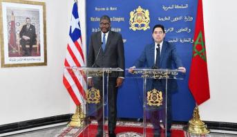 وزير الخارجية الليبيري يعلن عن قرب فتح قنصلية لبلاده بالداخلة