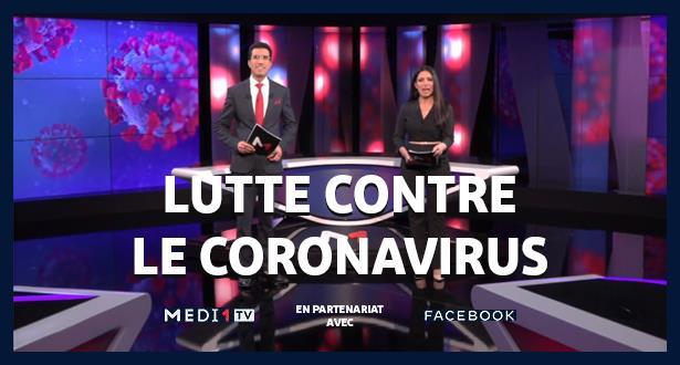 Lutte contre le Coronavirus: MEDI1TV associé à Facebook Town Hall au service de millions de téléspectateurs