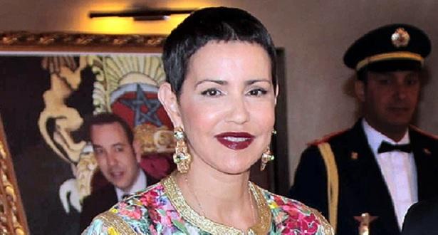 La Princesse Lalla Meryem préside la cérémonie d'inauguration du Bazar international de Bienfaisance du Cercle diplomatique de Rabat