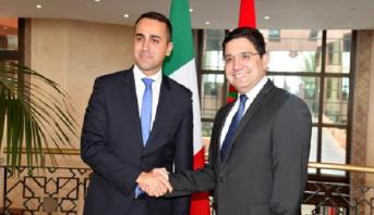 Résolution de la crise libyenne: le Chef de la diplomatie italienne exprime l'appréciation de Rome à l'égard du rôle joué par le Maroc